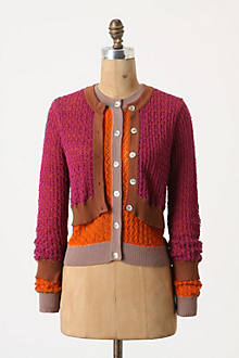 Layered Chroma Cardigan