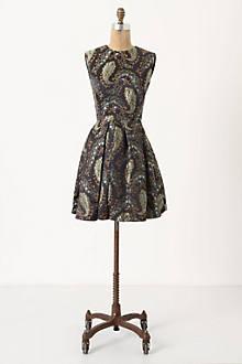 Brocade Paisley Dress