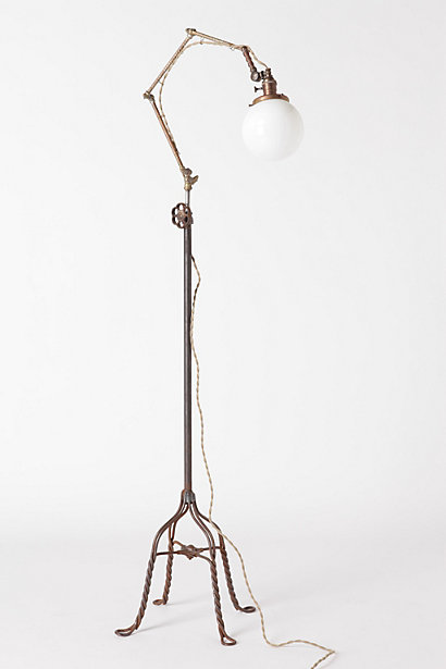 Opal Globe Floor Lamp, 2011 - anthropologie.