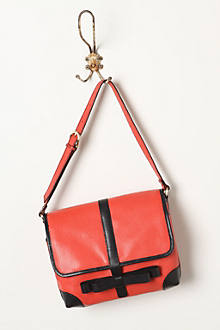 Leather Ribbon Satchel