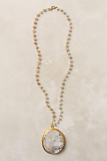 White Ocean Jasper Necklace