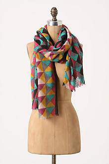 Bright Borders Scarf
