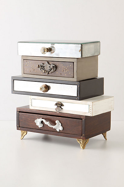 Sale alerts for Anthropologie Topsy-Turvy Jewelry Box - Covvet