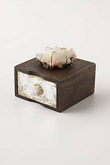 Wrapped Crag Jewelry Box, Extra Small