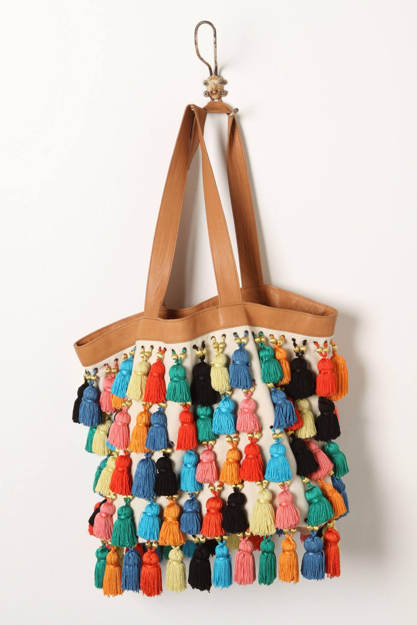 Декор на сумку своими руками