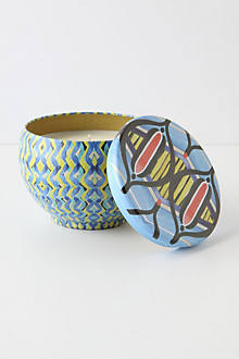 Tapestry Bubble Candle Tin