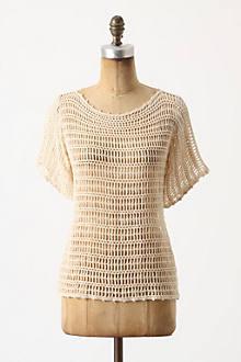 Breezed Crochet Pullover