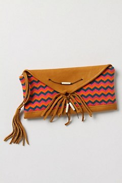 Knit Chevron Wristlet