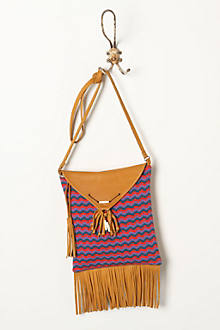 Knit Chevron Purse