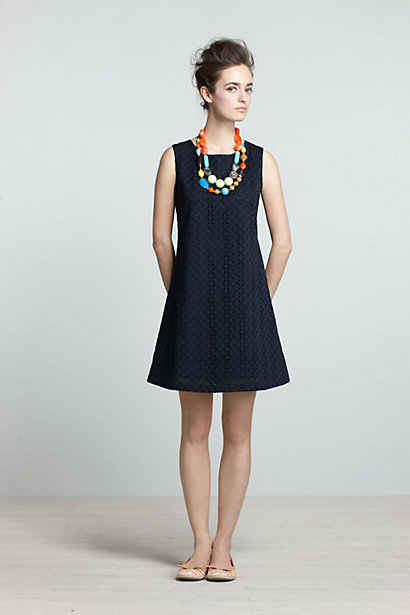 Eyelet Pinwheel Dress-Eyelet Pinwheel Dress