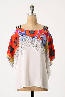 Scattered Heartsease Blouse