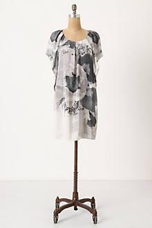 Achromatic Anemone Mini Dress