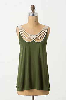Scalloped Strings Tank