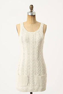 Pocketed Crochet Tunic