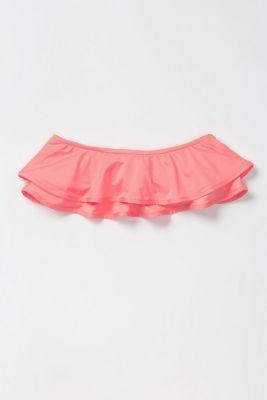 Tiered Flounce Bikini Top