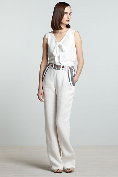 Buoy High-Waist Trousers-Buoy High-Waist Trousers
