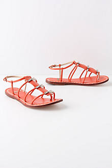 Tiered Clasp Sandals