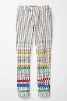 Stitched & Striped Pants