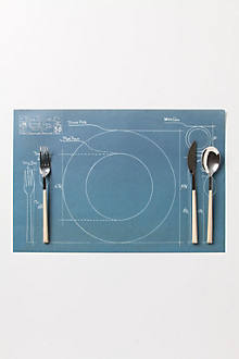 Rules Of Etiquette Paper Placemats