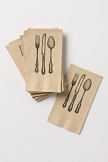 Dinner Setting Paper Napkins