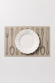 Dinner Setting Paper Placemats