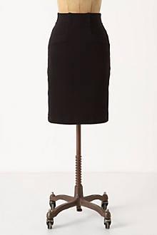 Textured Ponte Skirt