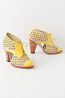 Cross-Stitched Verna Heels