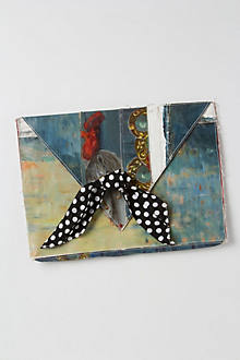 Brushstrokes Still Life Clutch
