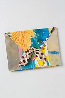 Brushstrokes Still Life Clutch