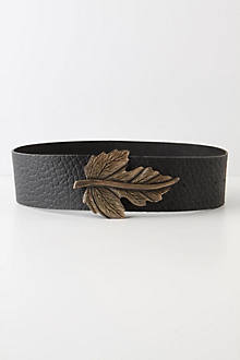 Brass Bract Belt