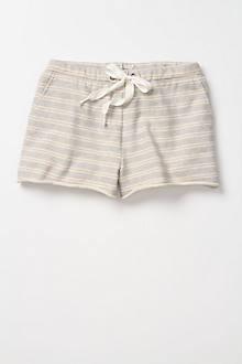 Striped Sweatshorts
