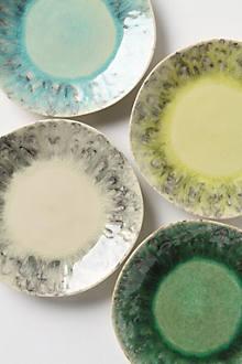 Soft-Focus Dessert Plates