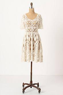 Hand-Crocheted Mini-Dress