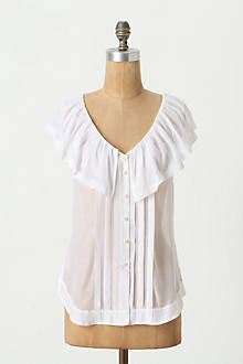 Blushing Flounced Blouse
