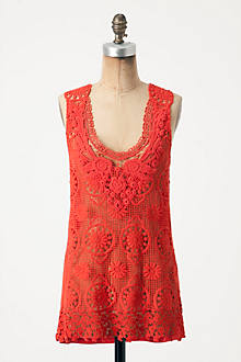 Lace Medallions Tank