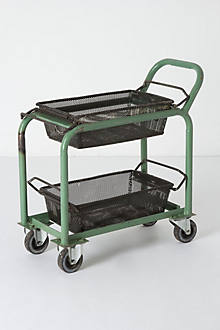 Antique Factory Trolley