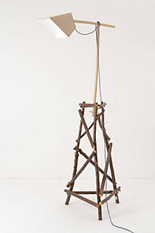 Wild Wood Floor Lamp