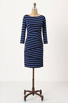 Pieced Column Dress
