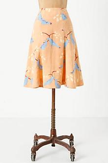 Multi-Panel Plume Skirt