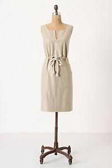 Flaxen Shimmer Dress
