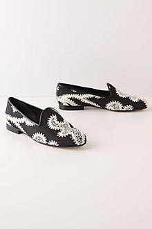 Bobbin Lace Loafers