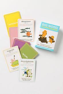 Big Words Flashcards