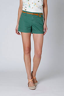 Buttons & Twill Shorts