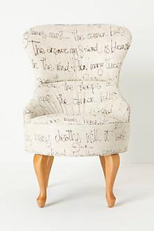 Archibald Chair, Egoiste