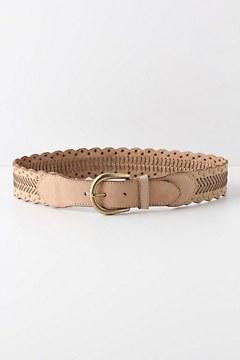 Scallops & Studs Belt