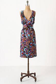 Vintage Floral Cape Dress