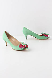 Mint Mallow Peep-Toes