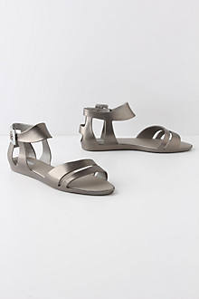 Split Strap Rain Sandals
