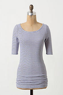 Ribbed & Striped Tee