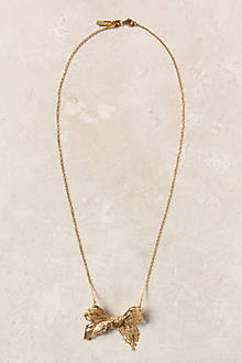 Gilded Needlepoint Necklace